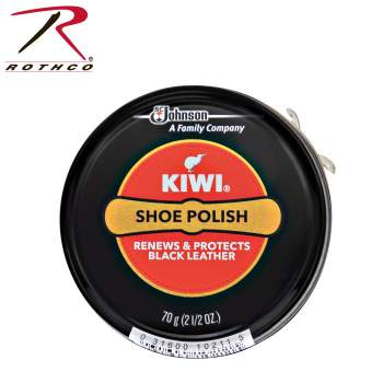Kiwi Shoe Polish Giant Size 2.5 oz, kiwi shoe polish, kiwi polish, shoe polish, shoe polishes, leather shoe polish, leather polish, uniform shoe polish, law enforcement shoe polish, military shoe polish, public safety shoe polish,