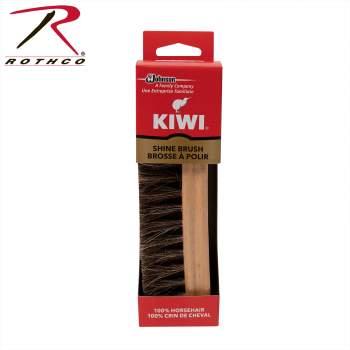 Kiwi Horse Hair Shine Brush