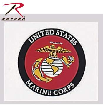 marine corp decal, decals, window decals, stickers, military decals, military stickers