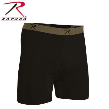 Rothco Moisture Wicking Performance Boxer Shorts, boxer shorts, performance boxer shorts, moisture wicking boxer shorts, moisture wicking boxers, performance boxers, mens boxers, boxer briefs, mens boxer briefs, short boxers, breathable moisture wicking boxer shorts, moisture wicking boxer briefs, moisture wicking underwear, base layer, military underwear, tactical undewear, ocp,  AR 670-1 Coyote Brown, scorpion,