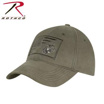 Rothco's USMC Eagle, Globe and Anchor / US Flag Low Pro Cap showcases the iconic Globe and Anchor Marine insignia alongside the American flag. Rothco offers an extensive collection of military hats, including baseball caps, boonies, berets, and more.
