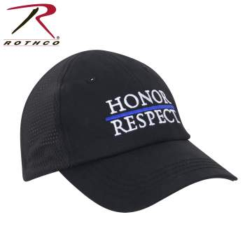 thin blue line, mesh hat, tactical cap, tactical hat, police hat, thin blue line hat, honor and respect, honor and respect thin blue line, rothco hat, rothco tactical cap