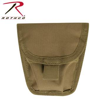 Rothco MOLLE Handcuff Pouch, molle handcuff pouch, molle handcuff case, handcuff case, police gear, cuff case, cases, cases and pouches, cuff cases, handcuff cases, handcuff holders, holder, holster, handcuff holster, police cuffs, duty gear, duty belt accessories law enforcement gear, law enforcement accessories, molle, molle pouches, mole attachments, molle gear, molle accessories, tactical molle, law enforcement molle, molle holster, modular lightweight load bearing equipment