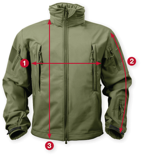 Rothco Soft Shell Tactical Jackets