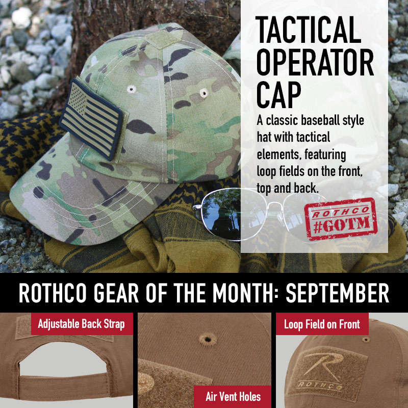 operator cap, tactical hap