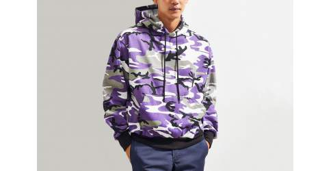 Rothco's Purple Camo Hoodie Featured On What Drops Now