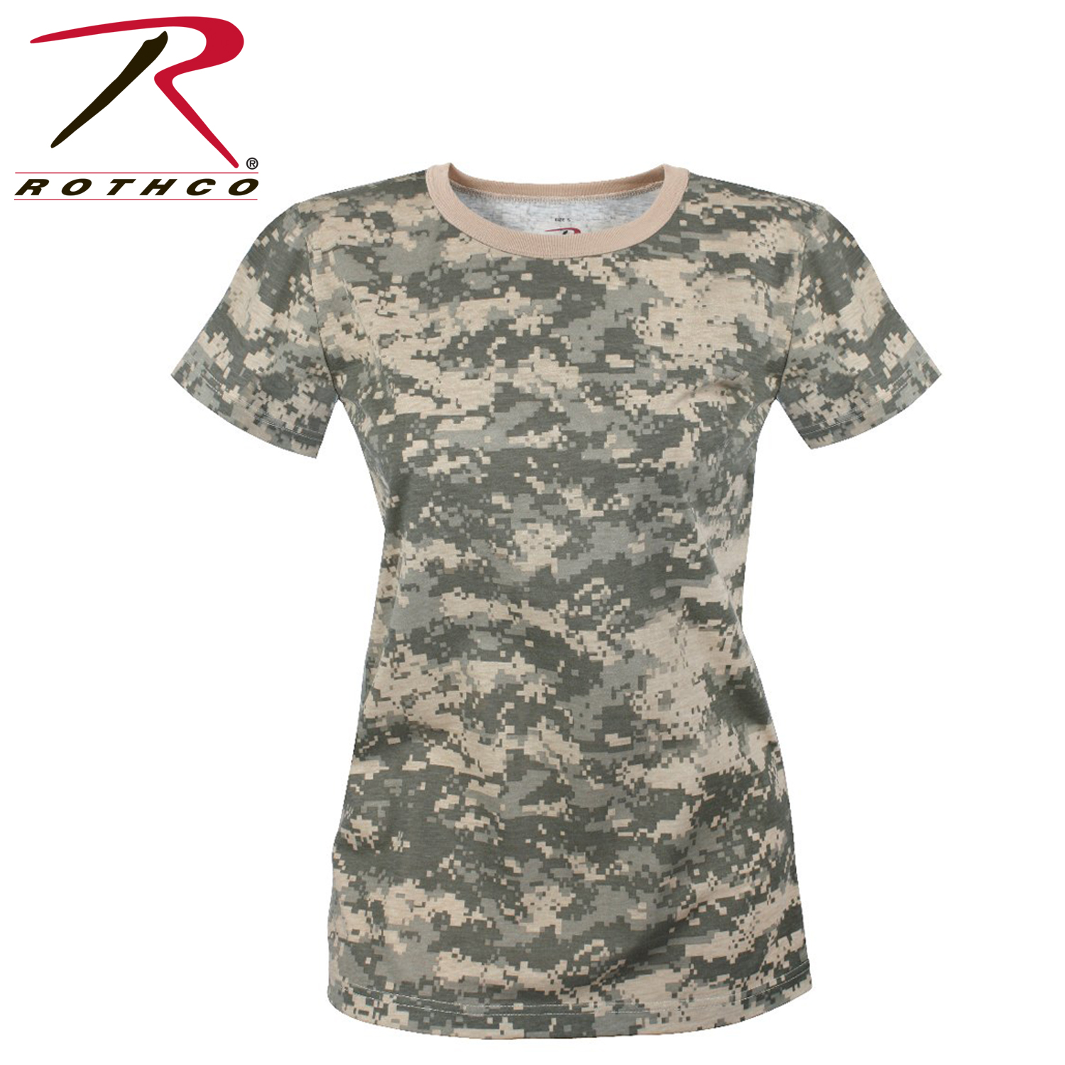 Beta Rothco Womens Long Length Camo T Shirt