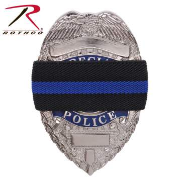 rothco thin blue line mourning band, thin blue line, thin blue line mourning band, mourning band, badge mourning band, mourning bands, police mourning band, mourning badge, thin blue line band, thin blue line badge band, police thin blue line, police band, police funeral protocol, funeral bands,