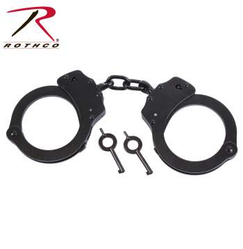 Rothco stainless steel handcuffs, Rothco handcuffs, stainless steel handcuffs, handcuffs, hand cuffs, stainless steel, black handcuffs, silver handcuffs, tactical, tactical handcffs, manacles, chain cuffs, military, military equipment, tactical equipment, tactical gear, military tactical gear, military tactical equipment, military gear, police gear, police supplies, police cuffs, police handcuffs, police hand cuffs, restraints