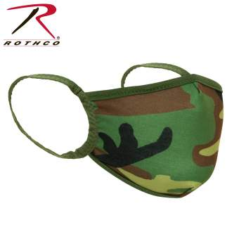 Rothco Reusable 3-Layer Polyester Face Mask, Polyester Face Mask, Reusable Face Mask, Face Mask, Mask, surgical masks, medical face mask, surgical face mask, face cover, best face mask, germ mask, COVID-19, coronavirus, coronavirus protection, antiviral face mask, flu mask, germ mask, antiviral mask, face mask for flu, masks for viruses, earloop face mask, virus mask, earloop mask, face mask antiviral, virus face mask, bandana, camo face masks, camouflage face masks, woodland camo