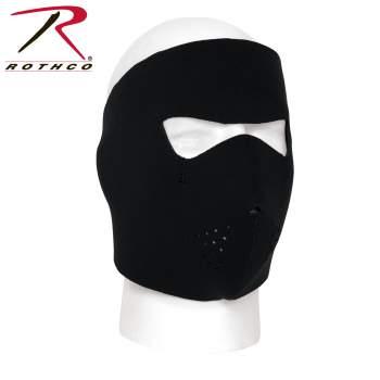 Rothco Neoprene Full Face Mask, Neoprene Full Face Mask, neoprene full face mask motorcycle, black full face mask, full cover face mask, neoprene headgear, mask neoprene, neoprene face mask, face mask, full face mask