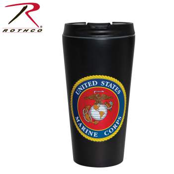 Rothco USMC Travel Cup, Travel Mug, Traveler Mug, Coffee Travel Mug, Portable Mugs, Thermal Mugs, To Go Mugs, Portable Coffee Cup, Coffee Cup to Go, Travel Tumblers, Travel Tumbler Mug, Commuter Mug, USMC Travel cup, marine travel mug, marine cup, usmc travel mug, marine crops travel mug, marine corps travel cup, marine corps coffee cup, usmc travel coffee cup, travel coffee cup, usmc tumbler, marine tumbler, marine mug