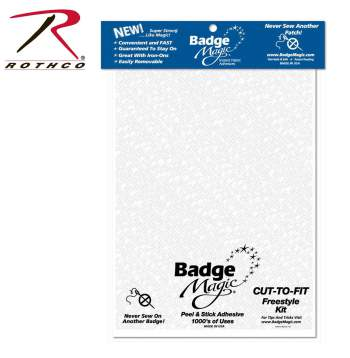 Badge Magic Cut To Fit Freestyle Kit - Adhesive, badge magic, adhesive, badge adhesive, iron, iron on, uniform, sash, boy scouts, merit badges, attaching,