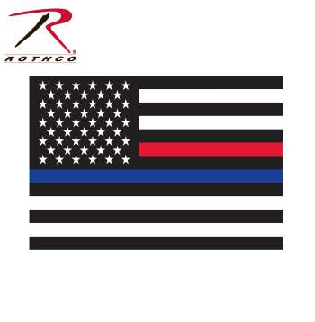 Rothco Thin Blue Line Flag Decal, Thin Red Line Flag, thin blue line sticker, thin red line sticker, thin blue line decal, thin red line decal, thin blue line car decal, thin blue line decals, thin blue line flag decals, thin blue line flag decal, thin red line flag decal, thin blue line, thin blue line decal for car, thin blue line flag decal for car, police support decal, firefighter support decal, police decals, car decal, window decal, thin blue line, thin blue line car decal, thin blue line window decal, thin red line, thin blue and red line, thin red line flag