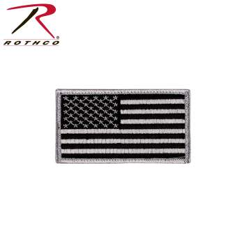 Rothco Mini US Flag Patch With Hook Back, mini flag patch, mini patch, patches for jackets, patches for clothes, backpack patches, us flag patch, American flag patch, American uniform, backwards American flag, flag patches, backwards flag, military American flag, reverse American flag, flag patches, flag patch, backpack patches, morale patch