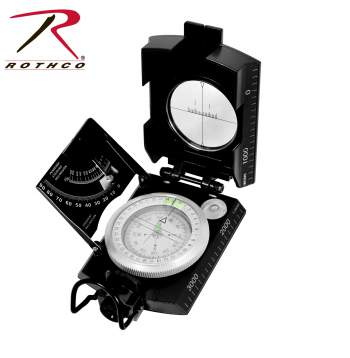 Rothco Deluxe Marching Compass, Compass, Deluxe Marching Compass, Deluxe Compass, Survival Compass, Military Compass, Camping Compass, Outdoor Compass, Army Compass