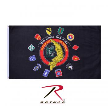 Rothco Vietnam Veteran Flag, rothco flag, vietnam veteran, flag, flags, vietnam veteran banner, banner, banners