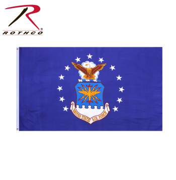 US Airforce Flag, flag, flags, rothco, airforce flag, military flag, military flags, airforce flags, air force flag, air force flags