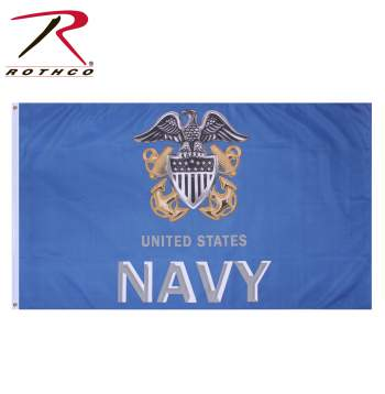 military flags, us military flags, us navy flag, naval flag, anchor flag, navy anchor flag,