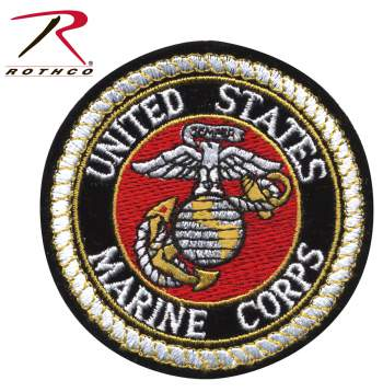patch, us marine patches, usmc, patches, military patches, army patches, round patch, u.s.m.c patch, u.s.m.c patches,