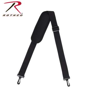 Rothco All-Purpose Shoulder Strap With Removable Pad, shoulder strap, shoulder strap pad, removable shoulder strap, shoulder strap for bag, replacement shoulder straps for bags, shoulder strap for messenger bag, padded shoulder strap, shoulder straps for duffel bags, replacement shoulder strap, all-purpose shoulder strap, all purpose shoulder strap, separate shoulder strap