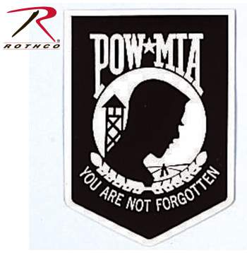 pow-mia decal, prisoner of war, missing in action,pow mia sticker, stickers, widow decals, stick on decals, military decals, army decals, solider decals, pow decals, POW decal,