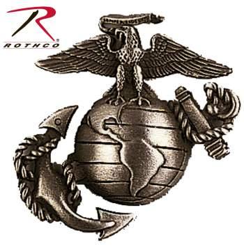 USMC Cap Pin, subdued usmc cap pin, marines cap pin, cap pin, cap pins, subdued marines cap pin, usmc, marines