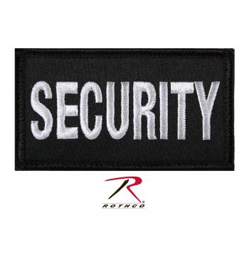 security patch, security, hook & loop patch, hook and loop, operators cap patch, public safety, public safety accessories, security patch with hook back