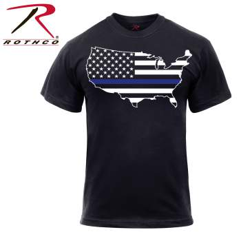 Rothco Thin Blue Line America T-Shirt, Thin Blue Line America T-Shirt, Thin Blue Line T-Shirt, Thin Blue Line Shirt, Thin Blue Line, Thin Blue Line Flag Shirt, Blue Line Shirt, Police Thin Blue Line Shirt, Police Thin Blue Line Shirt, Police Line Shirt, Police Support Shirt, Blue Line Clothing, Thin Blue Line Clothing, Thin Blue Line Apparel, Blue Stripe Shirt, Thin Blue Stripe Shirt, TBL, Thin Blue Line American Map Flag, Thin Blue Line USA Map Flag, first responder support,