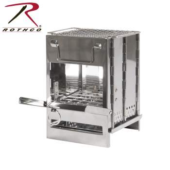 Rothco Stainless Steel Folding Camp Stove, camping stove, camping wood stove, portable camping stove, wood burning camping stove, camping cooking stove, small camping stove, backpacking camp stove, mini camping stove, outdoor camping stove, compact camping stove, stainless steel stove, stainless steel backpacking stove, hiking stove, camping stove camping, camp stoves, camping cook stove, portable stove, mini stove, backcountry stove, backpacking cookstove, lightweight camp stove, outdoor stove, outside stove