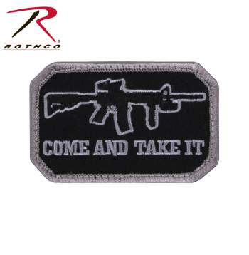 Come and Take It Morale Patch, Morale Patch, Patch, Airsoft patch, paintball patch, airsoft, paintball, velcro patch, jacket patch, hat patch,