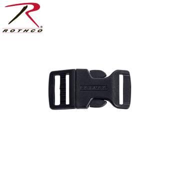 side release plastic buckles,buckles,buckle,plastic buckles,paracord buckle,black buckle,3/8 Inches,3/8 buckle, paracord accessories, survival bracelets, survival paracord