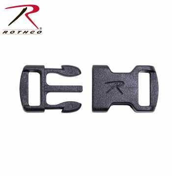 side release buckle, buckles, paracord buckles, bracelet buckles, accessories, paracord accessories, rothco buckles, 213