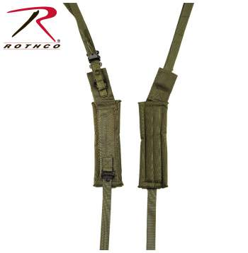 enhanced shoulder straps,alice pack accessories,military gear,military bag accessories,alice pack, alice pack straps, All-Purpose Lightweight Individual Carrying Equipment