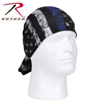 Rothco multi-use tactical wrap, Rothco multi-use tactical wrap, multi-use tactical wrap, multi-use tactical wrap, tactical wrap, multiple uses, tactical headwrap, tactical headwrap, head wrap, bandana, bandana, moisture wicking, wind resistant, neck gaiter, dust screen, balaclava, hat, scarf, tactical wrap, multi-use bandana, thin blue line, thin blue stripe, thin blue line bandana, blue stripe bandana, thin blue line headwrap, blue stripe headwrap, police bandana, law enforcement bandana, thin blue line scarf, buff, neck buff, neck shield, face shield,