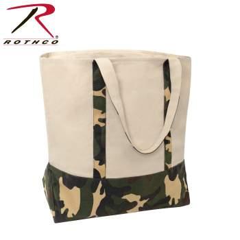 boat tote, canvas tote, tote bag, canvas tote bag, canvas bag, camo bag, oversized bag, camo tote, tote