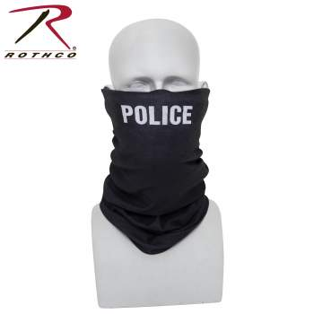 Rothco multi-use tactical wrap with police print, multi-use tactical wrap, multi-use tactical wrap, tactical wrap, multiple uses, tactical headwrap, tactical headwrap, head wrap, bandana, bandana, neck gaiter, dust screen, balaclava, hat, scarf, tactical wrap, multi-use bandana, neck buff, buff, face shield, neck shield, full face mask, face mask, face covering, bandana face cover, face cover, balaclava mask, fishing neck gaiter, face mask for men, half face mask, mens neck gaiter, fishing face cover, reusable face mask, neck gaiter military, balaclava face mask, face cover mask, bandana face mask, half balaclava, ski balaclava, tactical balaclava, ski neck gaiter, hunting neck gaiter, police print, police design, , PPE, personal protection equipment, police officer, law enforcement office, leo, police neck gaiter, police office uniform, police officer face mask, police face covering,