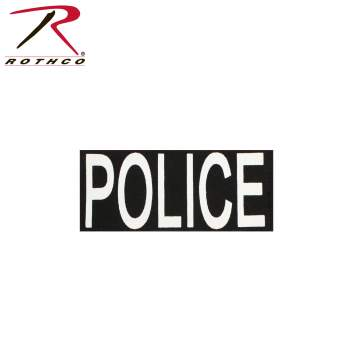 Rothco Police Patch With Hook Back, law enforcement patches, police patches, police velcro patches, police vest patches, police morale patches, police patch design, military police patch, law enforcement velcro patches, law enforcement explorer patch, law enforcement patches for vest, operator cap patches, operator ball cap patches, police special operations patch