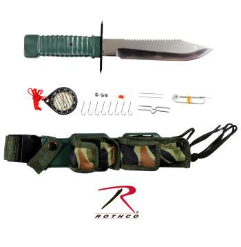 Special Forces Survival Kit Knife,Survival Kit Knife,Survival kit,survival knife,survival knives,knife,knives,tactical knife,tactical knives,rothco,rothco knife kit,knife kit,rothco survival knife,rothco survival knife kit,special forces,zombie,zombies