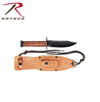 GI Style Pilots Survival Knife,government issue,gi knife,gi knives,knife,knives,pilot survival knife,pilot knife,pilot knives,zombie,zombies, rothco knife, survival knife, survival knives, military knife, combat knife