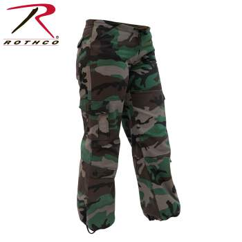 paratrooper pants, fatigue pants, women's paratrooper pants, women's fatigue pants, women's unwashed cargo pants, camouflage pants, unwashed camo pants for women, fatigues, fatigue pants for women, unwashed military clothing, unwashed women's fatigues, camo, women's camo, unwashed pants, camo pants, camo fatigues