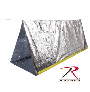 survival tent, silver reflective tent, tent, emergency supplies, camping supplies, outdoor supplies, outdoor gear, bug out bag supplies, prepper gear, survival gear, tents,
