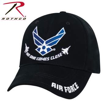 "Rothco Air Force ""No One Comes Close"" Low Profile Cap, air force hat, air force cap, air force veteran hat, low profile cap, ball cap, low profile hats, low crown hats, low profile trucker hat, no one comes close hat, plane hat"