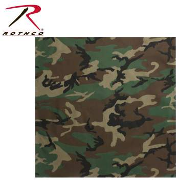 Rothco Classic Camo Bandana, bandana, bandanas, camouflage bandana, camo bandana, large bandana, jumbo bandana, large camo bandanas. bandana's, woodland camo bandana, pink camo bandana, military-style bandana, jumbo camo bandana, kerchief, woodland camo, tri-color desert camo, 6 color desert camo, headwraps, kerchief, Rothco Large Bandana, classic camo bandana, classic camo bandanas, bandana, bandanas, military-style bandana, cotton bandanas, big bandana, soft bandana, facemask, face mask, face cover, headwrap, du rag, du-rag, headwear, biker bandanas, army gear, military gear, military bandanas, military bandanas, tactical, military, tactical bandanas, tactical bandana, camo gear, camo clothing, camouflage, camo, camouflage gear, camouflage clothing