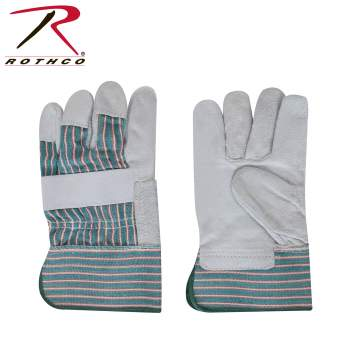 Rothco Big John Leather Work Gloves, work gloves, gloves, glove, workman's glove, yardwork glove, yard work glove, home improvement glove, leather work gloves, rothco work gloves, big john gloves, leather work gloves, leather glove