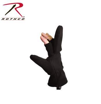 Fingerless Sniper Mittens,fingerless mittens,mittens,finger less mittens,fingerless gloves,convertible gloves,convertible mittens,mitten gloves,gloves and mittens,fleece gloves,glove with flap,flap gloves,flap mittens,retractable mitten,sniper gloves,rothco gloves,gloves,winter gloves