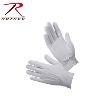 parade gloves,ceremonial gloves,white gloves,show gloves,dress gloves,uniform gloves,marching gloves,cloth gloves,gripper dots,glove with grippers, military parade gloves,