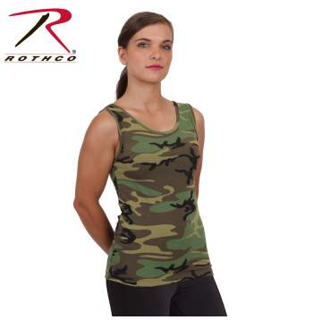 93a7365c383 Rothco Womens Camo Stretch Tank Top, Rothco Womens Camo Tank Top, Rothco  Womens Camo