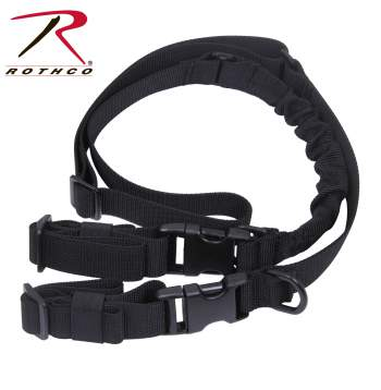 rothco deluxe tactical 2-point sling, 2 point sling, gun sling, sling, shooting supplies, military rifle sling, tactical rifle sling, shooting equipment, two point sling, 2 point tactical sling, tactical slings, military sling, shooting sling
