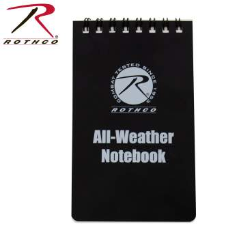 all weather notebook, notebook, waterproof notebook, water-proof notebook, all-weather writing, write in the rain, Tactical Notebook, Rothco Notebook, All Weather Note Pad, Rite In The Rain, Waterproof Notepad, Right in the rain notebook, write in the rain, waterproof field journal,